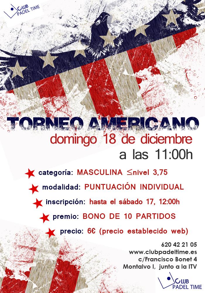 torneo americano masc